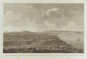 view The site of the ancient Greek city of Sigeion, Anatolia (in Turkey). Engraving by W. Skelton.