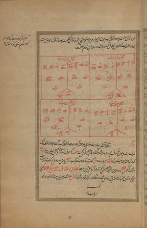 view Folio 31 recto, Wellcome MS Persian 466.