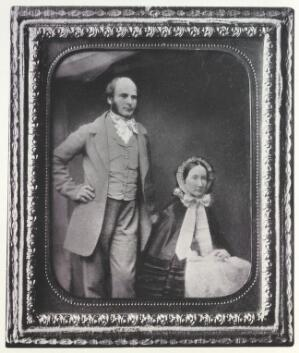 view Francis Galton and his wife in early married life.