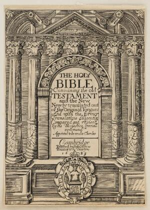 view The Holy Bible containing the New and Old Testament