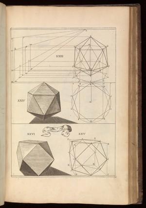 view Tab. 10. Woodcut diagram. La perspective curieuse...1663.