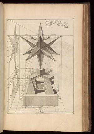 view Tab. 17. Woodcut diagram. La perspective curieuse...1663.