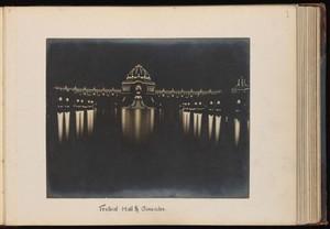 view No. 1, Festival Hall and Cascades. Gelatin silver print, 1904