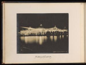 view No. 2, Building of Electricity. Gelatin silver print, 1904