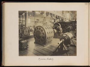 view No. 42, Dynamos Electricity. Gelatin silver print, 1904