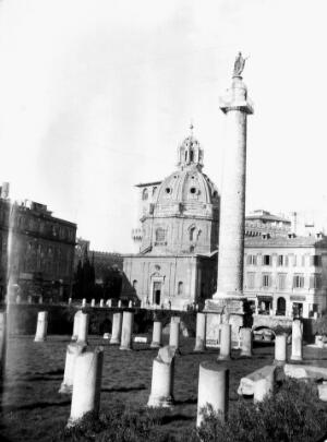 view Forum of Trajan, Rome, Italy