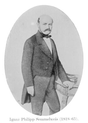 view Portrait of Ignaz Philipp Semmelweis [1818 - 1865], Hungarian-Austrian physician