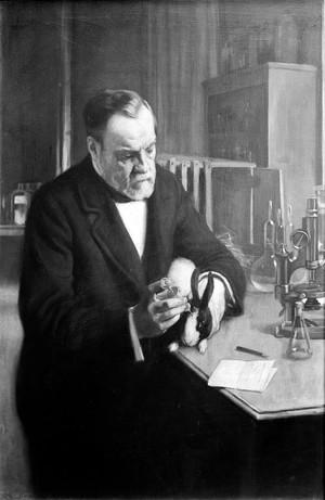 view Louis Pasteur [1822 - 1895], microbiologist and chemist
