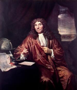 view Oil painting: portrait of A.V. Leeuwenhoek