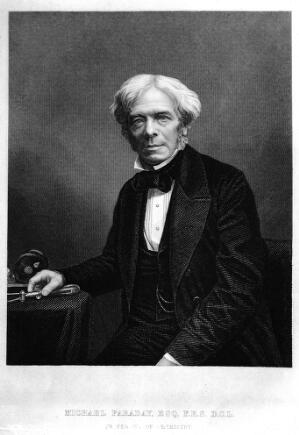 view Portrait of Michael Faraday (1791-1867)