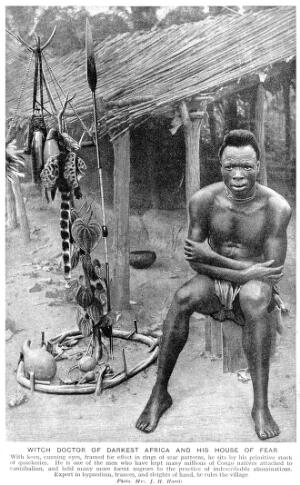 view Witch doctor of darkest Africa & his house of fear
