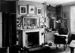 view Interior of Charles Darwin's study.