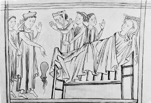 view Anglo-Norman physician and patient.