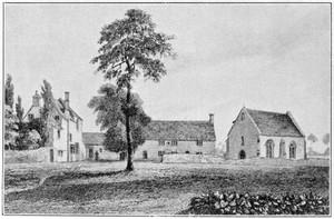 view Old leper Hospital of St. Bartholomew, Oxford.