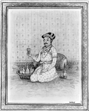 view Miniature painting: portrait of Charaka.