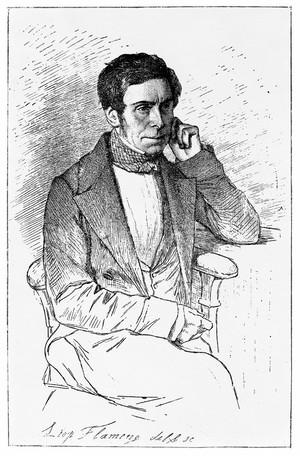 view Portrait of Felix-Archimede Pouchet.