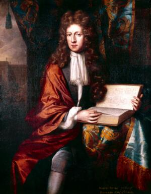view Portrait of The Honourable Robert Boyle (1627 - 1691), Irish natural philosopher