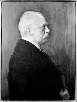 view Oil painting: portrait of H.L.F. von Helmholtz