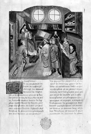 view Aristotle, Ethicques de Aristotle, 14th C