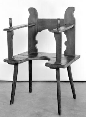 view Chair, German, 17th century