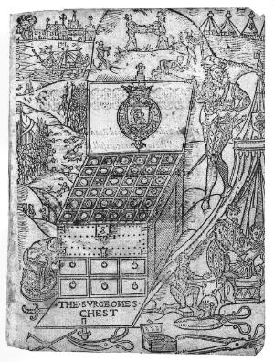 view Medicine chest for military use, 16th century