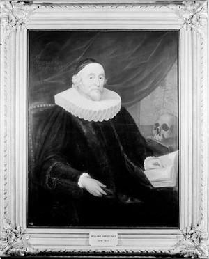 view Portrait of William Harvey [1578 - 1657], surgeon