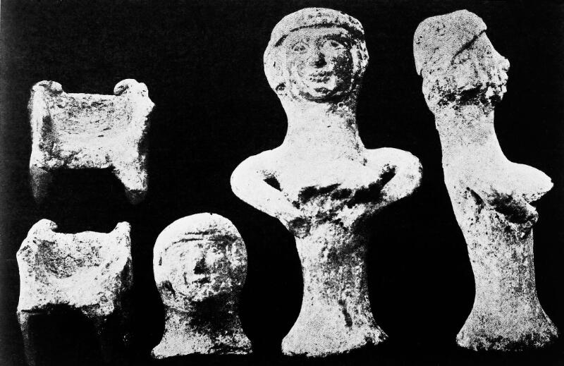 Ancient Canaanite Teraphim. Figurines of fertility goddess. | Wellcome  Collection