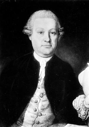 view Portrait Leopold von Auenbrugger.