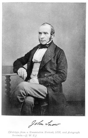 view John Snow, 1856.