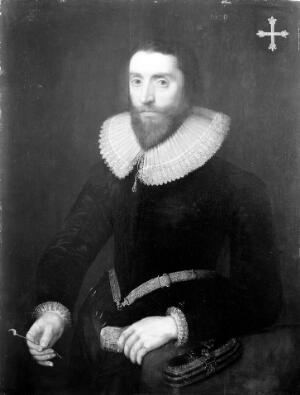 view Portrait of Richard Banister (aged 50). From the Collection of The Royal College of Surgeons.