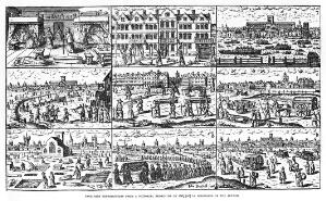 view Plague in London, 1665