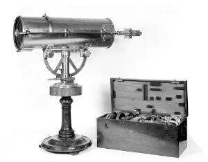 view Lucernal microscope of very large size by Adams, who invented the Lucernal Microscope. He only made one other of this particular type.