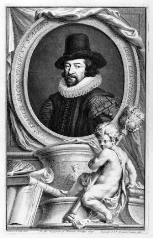 view Portrait of Francis Bacon