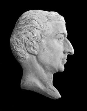 view Head in wax, Torricelli (?), 19th century