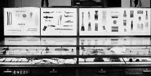 view Wellcome museum, primitive medicine: hygiene