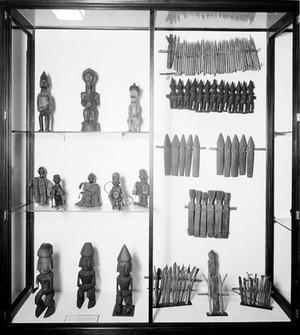 view Wellcome museum, primitive medicine, figures