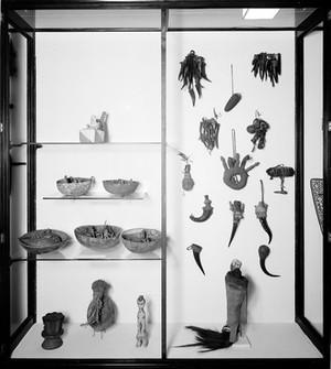 view Wellcome museum, primitive medicine, costumes