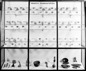 view Wellcome museum, primitive medicine, pharmacopoeia