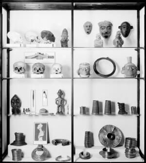 view Wellcome museum: primitive medicine, body deformation