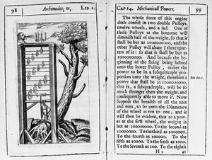 view J. WIlkins, 1648; rise of sap in trees