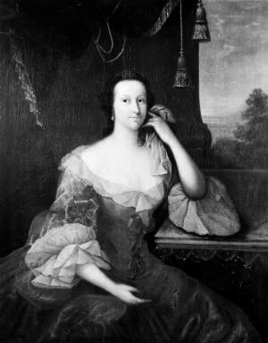 view Portrait of Lady Nathaniel Barry