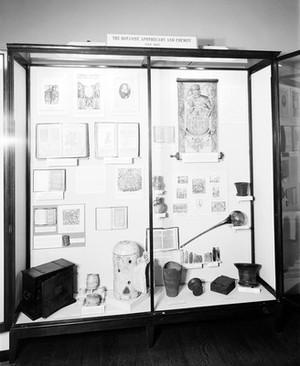 view Exhibition: Medicine under three Queens; Elizabeth, Anne and Victoria.