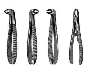 view Detal forceps, second half of 19th century.