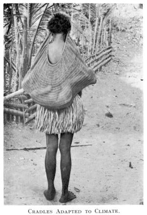 view Portable cradle metwork, Hall Sound, New Guinea