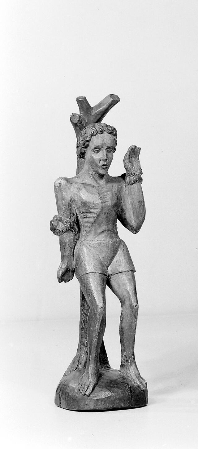 Saint Sebastian, the most renowed of the Roman martyrs (3rd century), an officer in the Imperial army and close favourite of the Emperor Diocletian.