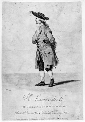 view Henry Cavendish, Chemist. 1731-1810