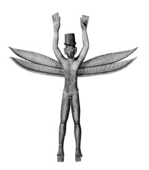 view Spirit-scaring effigy (Kareau), Nicobar Islands. Male