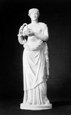 view Statue of Hygeia, copy of orginal in vatican.