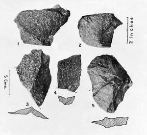 view Mylonite and biotite granite flakes...