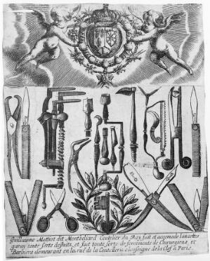 view Surgical Instrument Maker's Trade-card